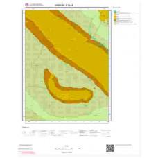 F 36-c4 Paftası 1/25.000 ölçekli Jeoloji Haritası