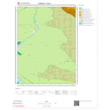 F 36-d3 Paftası 1/25.000 ölçekli Jeoloji Haritası