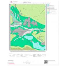 F 36-d4 Paftası 1/25.000 ölçekli Jeoloji Haritası
