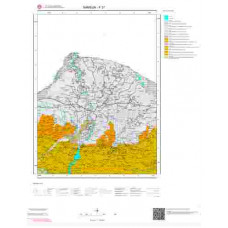 F37 Paftası 1/100.000 Ölçekli Vektör Jeoloji Haritası