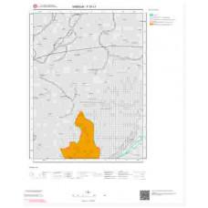 F 37-c1 Paftası 1/25.000 ölçekli Jeoloji Haritası