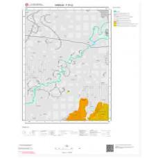 F37c2 Paftası 1/25.000 Ölçekli Vektör Jeoloji Haritası