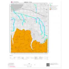 F 37-d1 Paftası 1/25.000 ölçekli Jeoloji Haritası