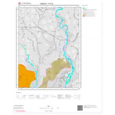 F 37-d2 Paftası 1/25.000 ölçekli Jeoloji Haritası
