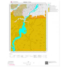F 37-d3 Paftası 1/25.000 ölçekli Jeoloji Haritası