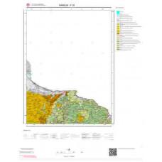 F38 Paftası 1/100.000 Ölçekli Vektör Jeoloji Haritası