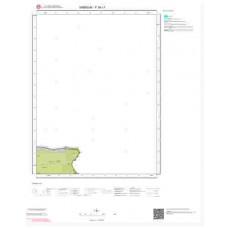 F 38-c1 Paftası 1/25.000 ölçekli Jeoloji Haritası