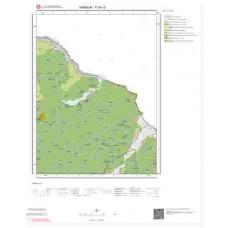 F38c3 Paftası 1/25.000 Ölçekli Vektör Jeoloji Haritası