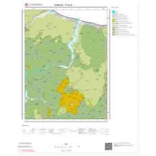 F38c4 Paftası 1/25.000 Ölçekli Vektör Jeoloji Haritası