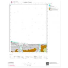 F38d2 Paftası 1/25.000 Ölçekli Vektör Jeoloji Haritası
