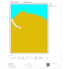 F42c3 Paftası 1/25.000 Ölçekli Vektör Jeoloji Haritası