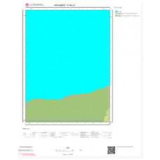 F44c3 Paftası 1/25.000 Ölçekli Vektör Jeoloji Haritası