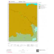 F48a2 Paftası 1/25.000 Ölçekli Vektör Jeoloji Haritası