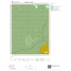 F48a3 Paftası 1/25.000 Ölçekli Vektör Jeoloji Haritası