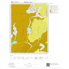 F48b3 Paftası 1/25.000 Ölçekli Vektör Jeoloji Haritası
