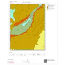 F48c1 Paftası 1/25.000 Ölçekli Vektör Jeoloji Haritası