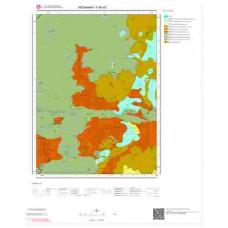 F48d2 Paftası 1/25.000 Ölçekli Vektör Jeoloji Haritası