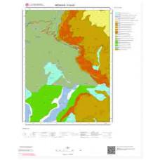 F48d3 Paftası 1/25.000 Ölçekli Vektör Jeoloji Haritası