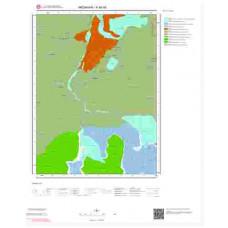 F48d4 Paftası 1/25.000 Ölçekli Vektör Jeoloji Haritası