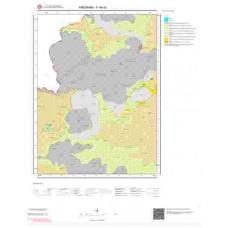 F49a1 Paftası 1/25.000 Ölçekli Vektör Jeoloji Haritası