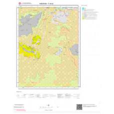 F49a2 Paftası 1/25.000 Ölçekli Vektör Jeoloji Haritası