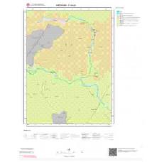 F49a3 Paftası 1/25.000 Ölçekli Vektör Jeoloji Haritası