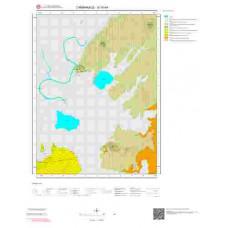 G16b4 Paftası 1/25.000 Ölçekli Vektör Jeoloji Haritası