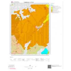 G16c2 Paftası 1/25.000 Ölçekli Vektör Jeoloji Haritası