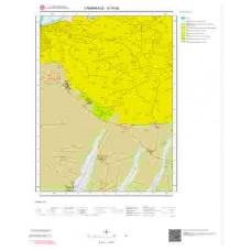 G16d2 Paftası 1/25.000 Ölçekli Vektör Jeoloji Haritası