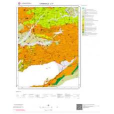 G 17 Paftası 1/100.000 ölçekli Jeoloji Haritası