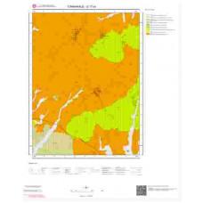 G17a1 Paftası 1/25.000 Ölçekli Vektör Jeoloji Haritası