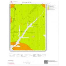 G17a2 Paftası 1/25.000 Ölçekli Vektör Jeoloji Haritası