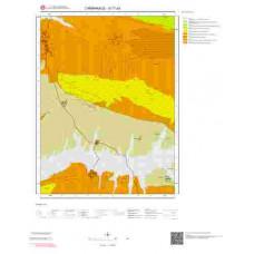 G17a3 Paftası 1/25.000 Ölçekli Vektör Jeoloji Haritası