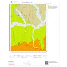 G17b2 Paftası 1/25.000 Ölçekli Vektör Jeoloji Haritası