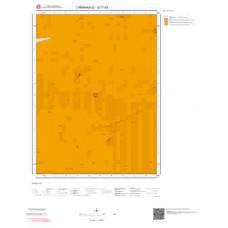 G17b3 Paftası 1/25.000 Ölçekli Vektör Jeoloji Haritası