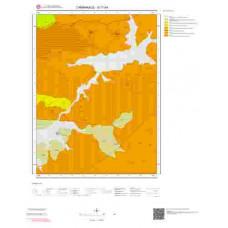 G17b4 Paftası 1/25.000 Ölçekli Vektör Jeoloji Haritası