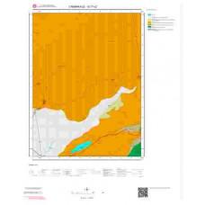 G17c2 Paftası 1/25.000 Ölçekli Vektör Jeoloji Haritası