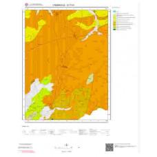 G17d1 Paftası 1/25.000 Ölçekli Vektör Jeoloji Haritası