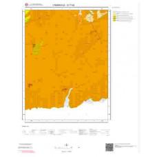 G17d2 Paftası 1/25.000 Ölçekli Vektör Jeoloji Haritası