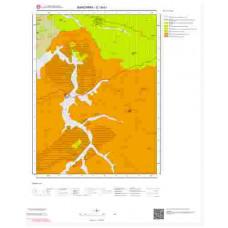 G18b1 Paftası 1/25.000 Ölçekli Vektör Jeoloji Haritası