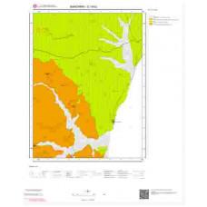 G18b2 Paftası 1/25.000 Ölçekli Vektör Jeoloji Haritası
