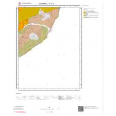 G18c1 Paftası 1/25.000 Ölçekli Vektör Jeoloji Haritası