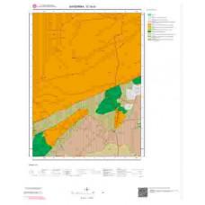 G18d1 Paftası 1/25.000 Ölçekli Vektör Jeoloji Haritası
