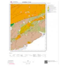 G18d2 Paftası 1/25.000 Ölçekli Vektör Jeoloji Haritası