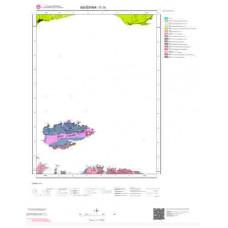 G19 Paftası 1/100.000 Ölçekli Vektör Jeoloji Haritası