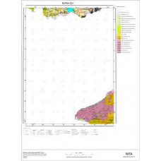 G 21 Paftası 1/100.000 ölçekli Jeoloji Haritası