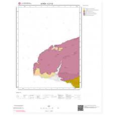 G 21-c4 Paftası 1/25.000 ölçekli Jeoloji Haritası