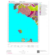 G22a1 Paftası 1/25.000 Ölçekli Vektör Jeoloji Haritası