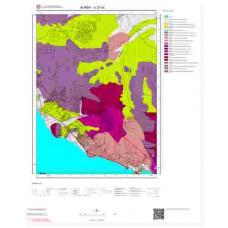 G22a2 Paftası 1/25.000 Ölçekli Vektör Jeoloji Haritası