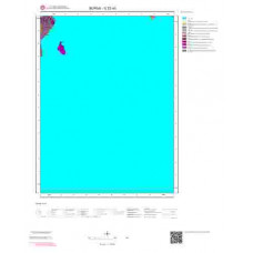 G22a3 Paftası 1/25.000 Ölçekli Vektör Jeoloji Haritası